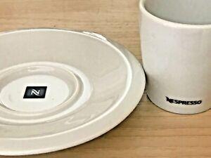 NESPRESSO PRO COFFEE 2 X ESPRESSO CUPS & 2 X SAUCERS BRAND NEW