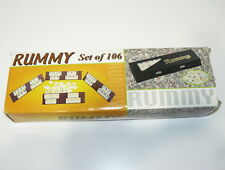 TILE RUMMY GAME DELUXE BRAILLE EDITION RUMMIKUB WITH CASE