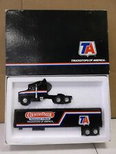 Ertl Truckstops of America Ta Highway Hauler Country Pride Black Red Blue White