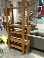 Local Made Solid American Oak Hardwood Timber Mountville Bookcase Display Unit.