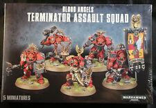 Warhammer 40K Blood Angels Terminator Assault Squad (41-13)  NEW