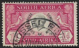 South Africa 1935 Silver Jubilee SG66 Mossel River PO Closed  Renamed Voelkop