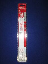 "MILWAUKEE 48-00-4713 9"" 10 TPI THE TORCH ICE HARDENED SAWZALL BLADES PACK OF 5"