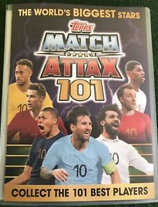 MATCH ATTAX 101 2019 FULL SET OF 174 CARDS IN BINDER + LIMITED EDITION MINT