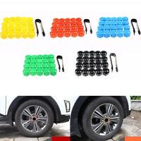 Wheel Nut Caps Bolt Covers For Audi VW Vauxhall Mercedes Renault Skoda 20X 17mm