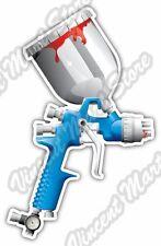 """Spray Gun Car Paint Airbrush Air Compressor Bumper Vinyl Sticker Decal 3.5""""X5"""""""