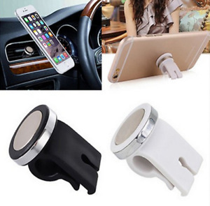 New 360 Rotating Magnetic Mount Car Air Vent Mobile Phone Holder Stand For GPS