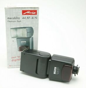 Metz Mecablitz Flash 44 AF-4i N i-TTL For Nikon. Ideal For Digital. Unused. Box.