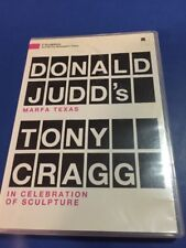 Two Sculptors: Donald Judd's Marfa Texas and Tony Cragg DVD Hard To Find Rare