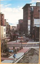Montana Postcard Last Chance Gulch Helena Walking Mall Downtown Clarkson 1980s