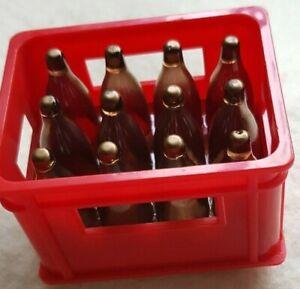 Rare : Petit Caisse à Bière, Kart Caisse, Rouge, 6 x 4 X 4 CM, Super Déco