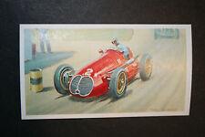 Maserati 4 CLT 1949  Motor Racing Picture Card # VGC
