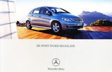2005 Mercedes Benz B-Class B200 B180 B170 58-page German Car Sales Brochure