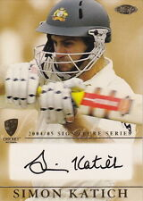 CRICKET - 2004/05 Cricket ~ Simon Katich Signature Card #MINT