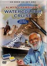 ALWYN CRAWSHAW'S WATERCOLOUR CRUISE. DOUBLE DVD PACK