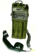 A RACAL  FIELD TELEPHONE TYPE 404
