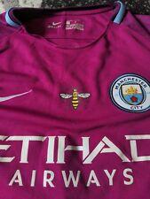 Manchester City Football Shirt Bernardo Player Nike medium boys