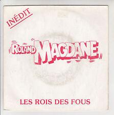 """Roland MAGDANE Disque 45T 7"""" SP ROIS DES FOUS -La TARTE AUX PRUNEAUX INEDIT RARE"""