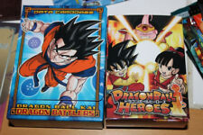 2 Boites box Cards cartes Case deck empty DRAGON BALL Z Dragon Battlers Heroes