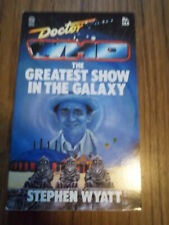 7th Dr Doctor Who The Greatest Show in the Galaxy Ace Tardis 1st Edition Unread
