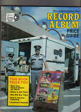 Record Album Price Guide Music book