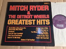 MITCH RYDER & THE DETROIT WHEELS - GREATEST HITS - LP - BELLAPHON - GERMANY