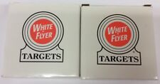Set Of 2 White Flyer Targets-Grandamerica 2015 Sparta Il