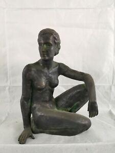 Nice nude bronze signed by George Kolbe
