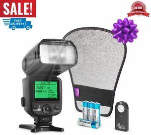 kit de flash de cámara de fotos speedlite fotografía universal alto rendimiento