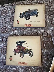 Pfeiffer  Beer Signs. vintage