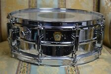 Ludwig Snare Drum 1960's Vintage Supraphonic 5 x 14 Keystone badge 1968 Ludwig