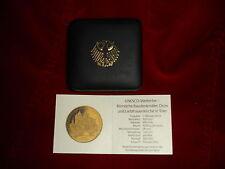 Etui f. 100 EURO GOLD BRD 2009 Zertifikat Unesco Welterbe Römische Baudenkmäler