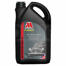 Millers Oils CTV Mini 20W-50 Semi Synthetic Engine Oil 20W50 5 Litres - 2017