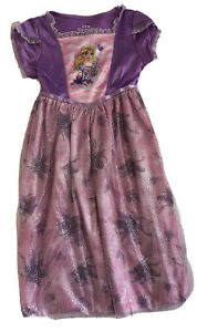 New Disney Princess Nightgown size 5T Rapunzel Tangled Dress Up Purple Costume