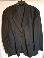 Robert Villini Men's Italian Navy Suit  Jacket(44L)