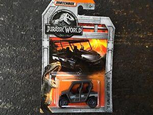 Jurassic World Matchbox '15 Kawasaki Teryx4 LE Vehicle
