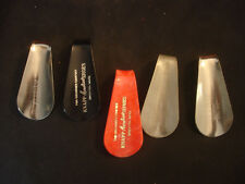 Old Vtg Collectible 2 Hess 2 Knapp Aerotred 1 Hahn Shoe Horns Lot 5