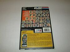 Gi Joe Vintage 1988 DUSTY UNCUT FULL FILE CARD