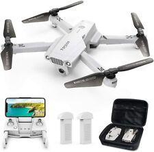 Tomzon D65 Drone Quadcopter w/ Camera | 4K UHD | GPS | Foldable