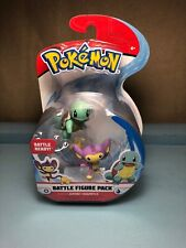 New 2019 Pokemon Movie Battle Ready Figure Pack Aipom & Squirtle Usa Seller