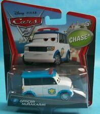 New 2011 Disney Pixar Cars 2 OFFICER MURAKARMI #32 1:55 CHASE Van Truck