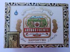 """Arturo Fuente """"Rothschilds"""" Wooden Cigar Box"""