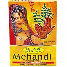 HESH MEHANDI HENNA POWDER ~ 100% Natural For Hair, Feet, Palm and Nails ~ 3.5 oz