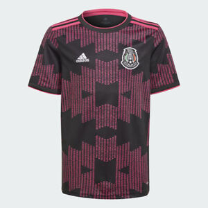 Youth adidas Mexico Official 2021 2022 Home Soccer Jersey