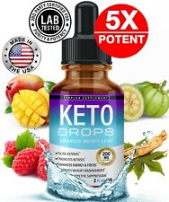 Keto Diet Shred-Best Ketosis Drops Weight Loss Supplement Fat Burn&Carb Blocker