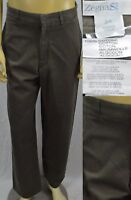 Ermenegildo Zegna Sport Mens Chino Pants Size 32 X 29 Cotton Made In Italy Olive