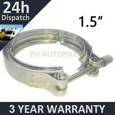 "V-BAND OUTER CLAMP STAINLESS STEEL EXHAUST TURBO HOSE RADIATOR 1.5"" 38mm"