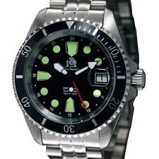 Tauchmeister Automatique GMT sous-marin-profess. wr20atm t0288