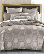 Hotel Collection Honeycomb Trellis King Comforter Grey $500