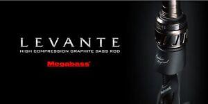 Megabass Rod Baitcast Levante F7-72LV (5192)